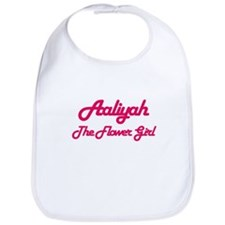 Aaliyah - Flower Girl Bib