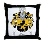 Nori Family Crest Throw Pillow