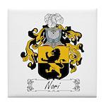 Nori Family Crest Tile Coaster