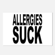 Allergies Suck Postcards (Package of 8)