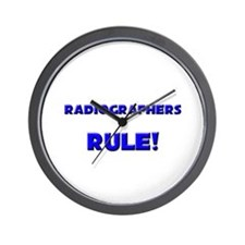 Radiographers Rule! Wall Clock