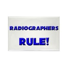 Radiographers Rule! Rectangle Magnet