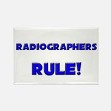 Radiographers Rule! Rectangle Magnet (10 pack)