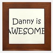 Cool Danny Framed Tile