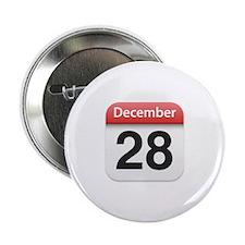 "Apple iPhone Calendar December 28 2.25"" Button (10"