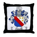 Novelli Family Crest Throw Pillow