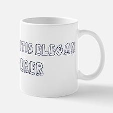 Caenorhabditis Elegan Whisper Mug