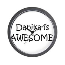 Cool Danika Wall Clock