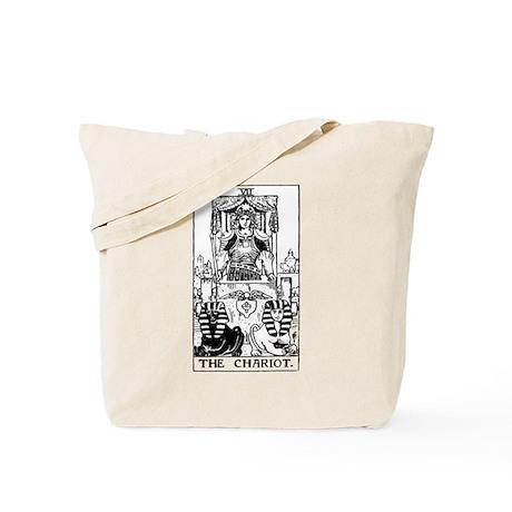 The Chariot Tarot Card Tote Bag