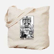 The Chariot Tarot Card Tote Bag