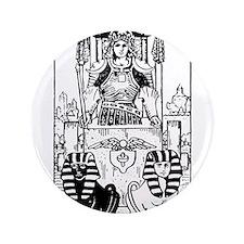 "The Chariot Tarot Card 3.5"" Button"