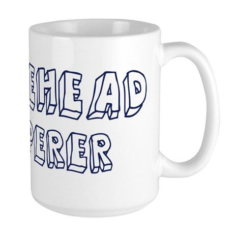 Bufflehead Whisperer Large Mug