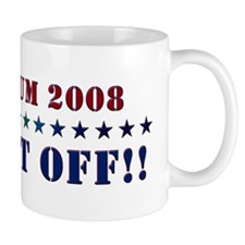 Santorum 2008 - Wash It Off!! Mug