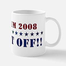 Santorum 2008 - Wash It Off!! Mug
