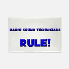 Radio Sound Technicians Rule! Rectangle Magnet
