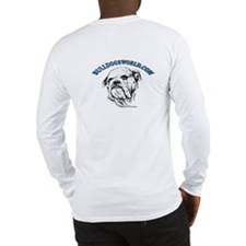 Blue Logo Long Sleeve T-Shirt