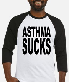 Asthma Sucks Baseball Jersey
