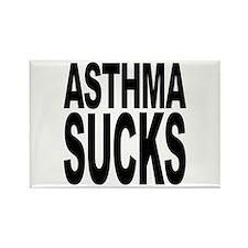 Asthma Sucks Rectangle Magnet