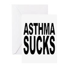 Asthma Sucks Greeting Cards (Pk of 10)
