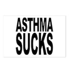 Asthma Sucks Postcards (Package of 8)