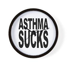 Asthma Sucks Wall Clock