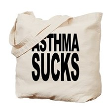 Asthma Sucks Tote Bag