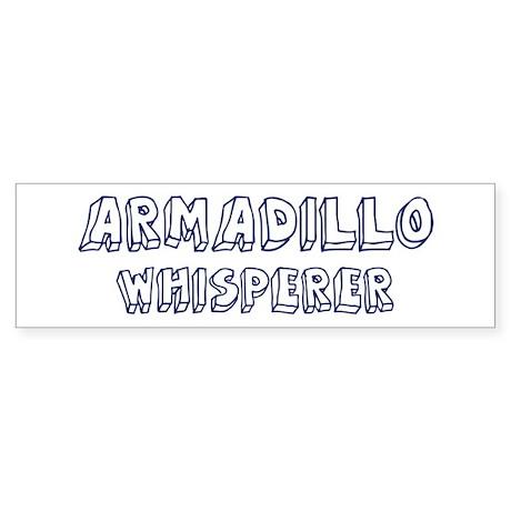 Armadillo Whisperer Bumper Sticker (10 pk)