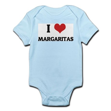 I Love Margaritas Infant Creeper