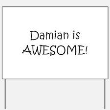 Cool Damian Yard Sign