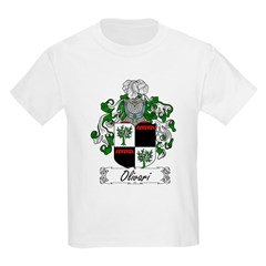 Olivari Family Crest Kids T-Shirt