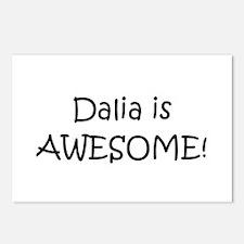 Cute Dalia Postcards (Package of 8)