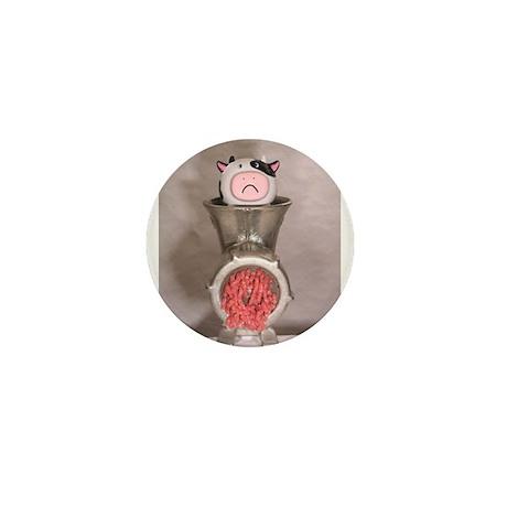 Processing Cow Mini Button