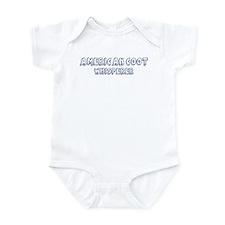 American Coot Whisperer Infant Bodysuit