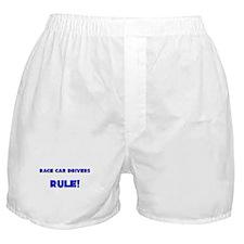 Race Car Drivers Rule! Boxer Shorts