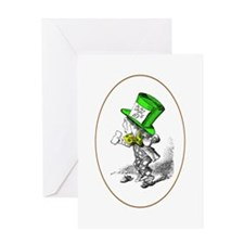 The Mad Hatter Greeting Card