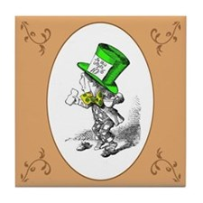 The Mad Hatter Tile Coaster