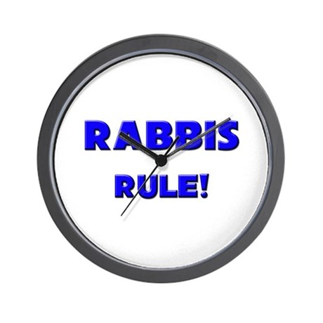 Rabbis Rule! Wall Clock