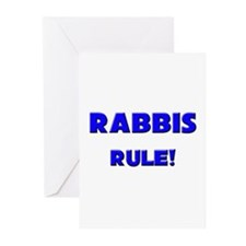 Rabbis Rule! Greeting Cards (Pk of 10)