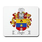 Onofri Family Crest Mousepad