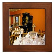 Fennel Seed Dining Room Framed Tile