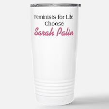 Feminists for Life Choose Pal Travel Mug