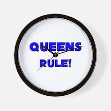 Queens Rule! Wall Clock