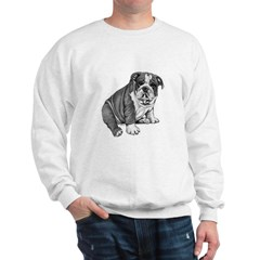 Puppy Drawing Sweatshirt