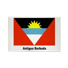 Antigua Barbuda Flag Rectangle Magnet
