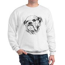 Drawn Head Sweatshirt