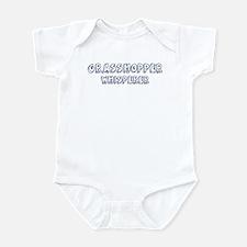 Grasshopper Whisperer Infant Bodysuit