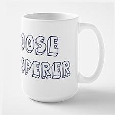 Goose Whisperer Large Mug