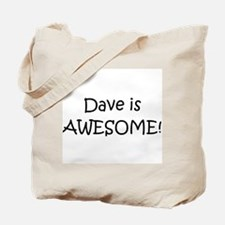 Cute I love dave Tote Bag