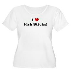 I Love Fish Sticks! T-Shirt