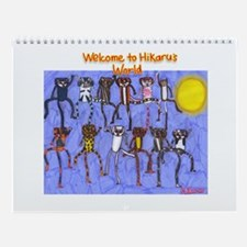 Welcome to Hikaru's World Miracle Cats Calendar